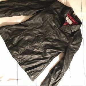 Wilson's Leather Maxima Button Coat